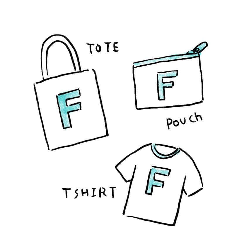 Tシャツやポーチ、トートBAGなど